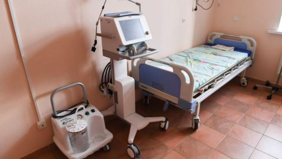 В больницах Ленобласти развернули ещё 195 ковидных коек