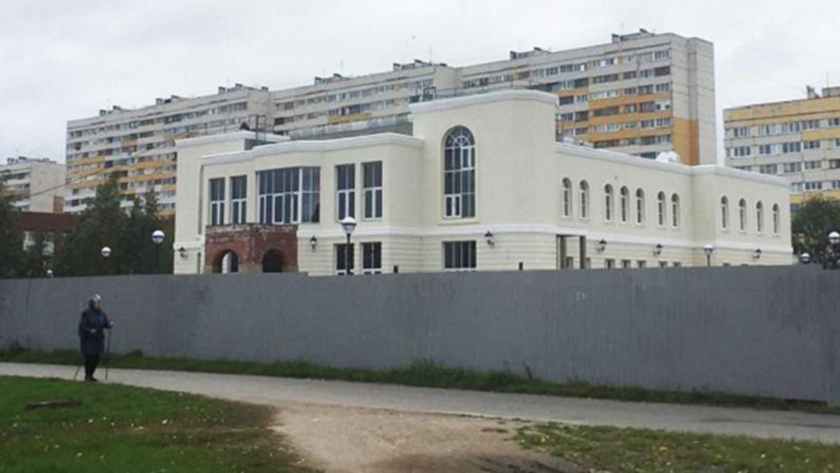 В Красносельском районе открывают первый дворец бракосочетаний