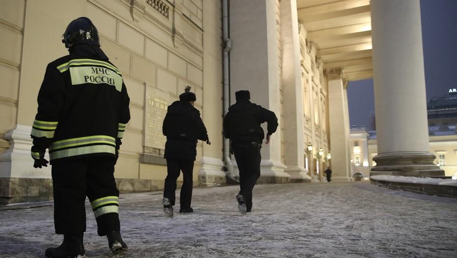В Москве 500 человек эвакуировали из Большого театра из-за угрозы взрыва