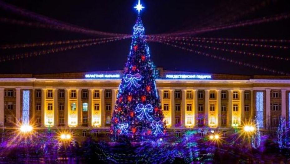 В Великом Новгороде в Новый год перекроют главную площадь с ёлкой