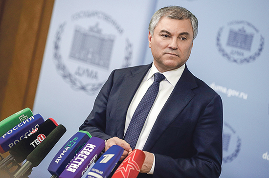Володин предложил изучить соблюдение прав человека в Европе