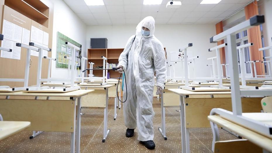 Вспышка коронавируса вынудила петербургскую школу просить об удалёнке