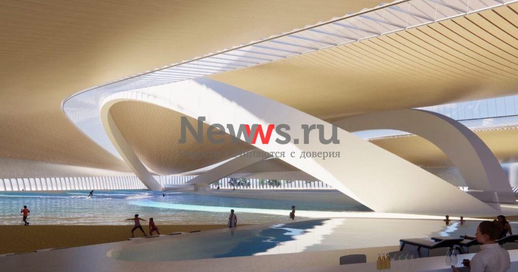 Бассейн для сёрфинга размером с пять футбольных полей построят в Москве в 2023 году
