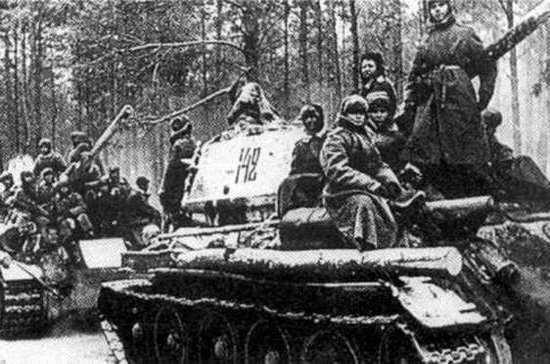 76 лет назад началась Висло-Одерская операция