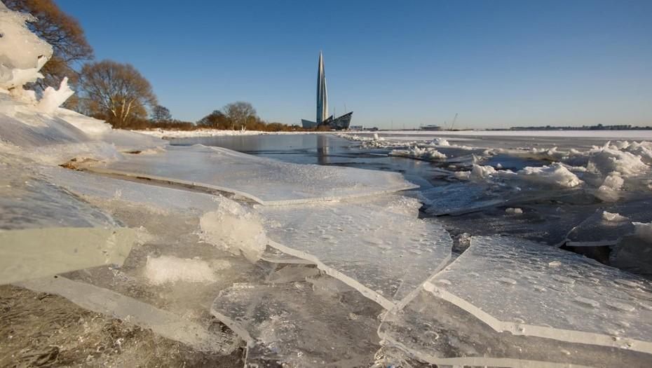 Минувшая ночь в Петербурге стала самой холодной с начала зимы