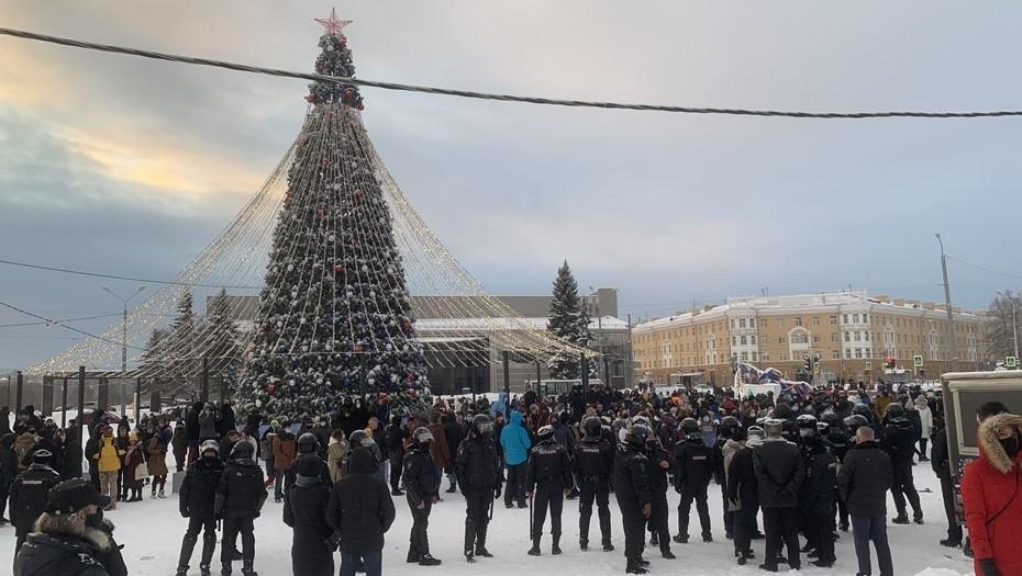 На митинге в Петрозаводске задержали 23 человека