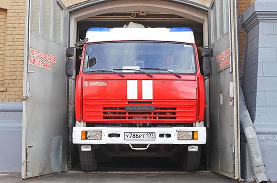 Пожарные машины предложили не штрафовать за нарушения весо-габаритного контроля