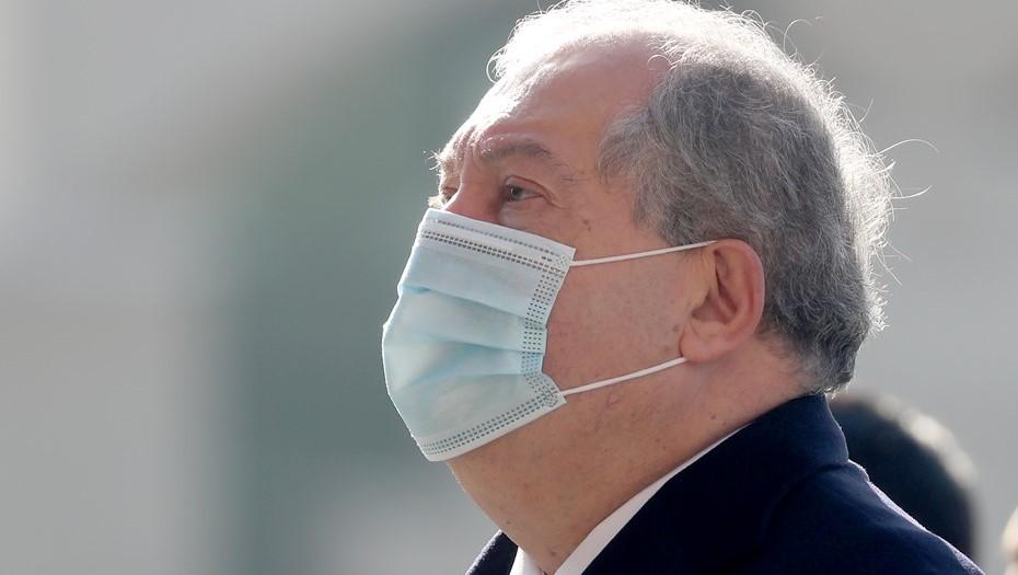 Президент Армении заразился COVID-19 в Лондоне