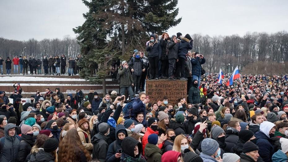 Прокуратура Петербурга предупредила о последствиях за участие в митингах