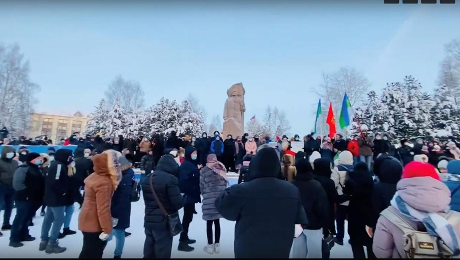 Протестная акция в Сыктывкаре обошлась без автозаков