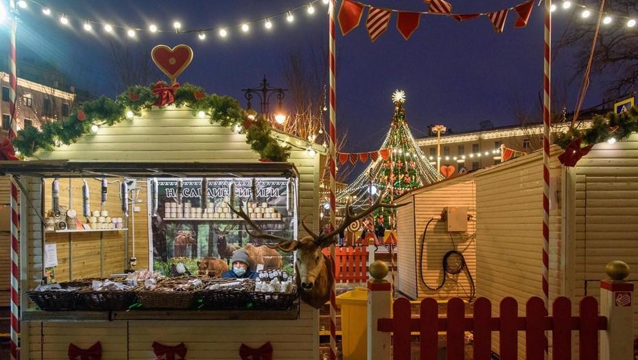 Рождественскую ярмарку посетили более полумиллиона гостей