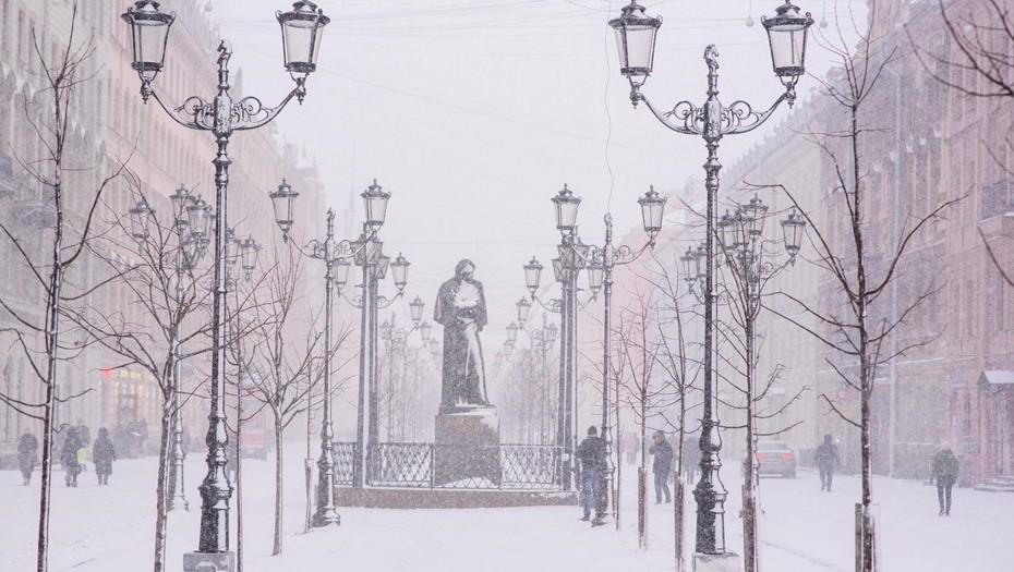 С каждым днём холоднее: Петербург ждёт аномально морозное воскресенье