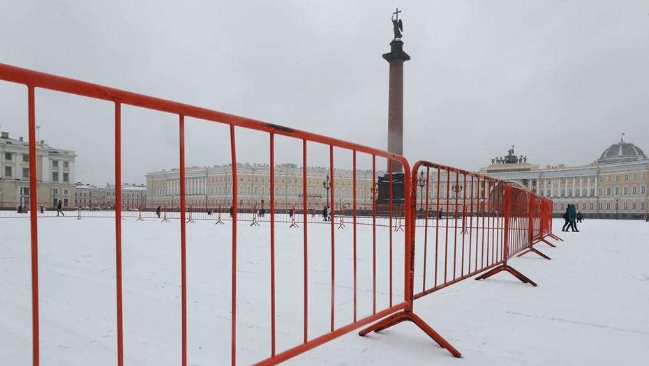 Смольный продлил запрет на митинги и пикеты в Петербурге