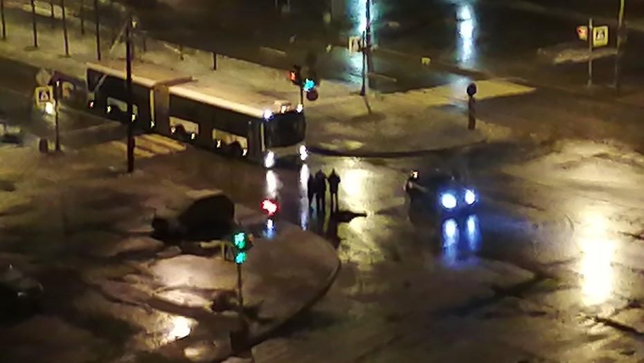 В Красносельском районе на зебре сбили пешехода