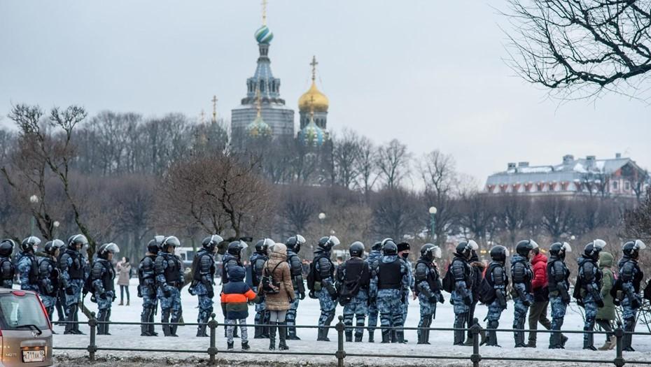 В Петербурге оштрафовали гражданина Алжира за участие в митинге за Навального