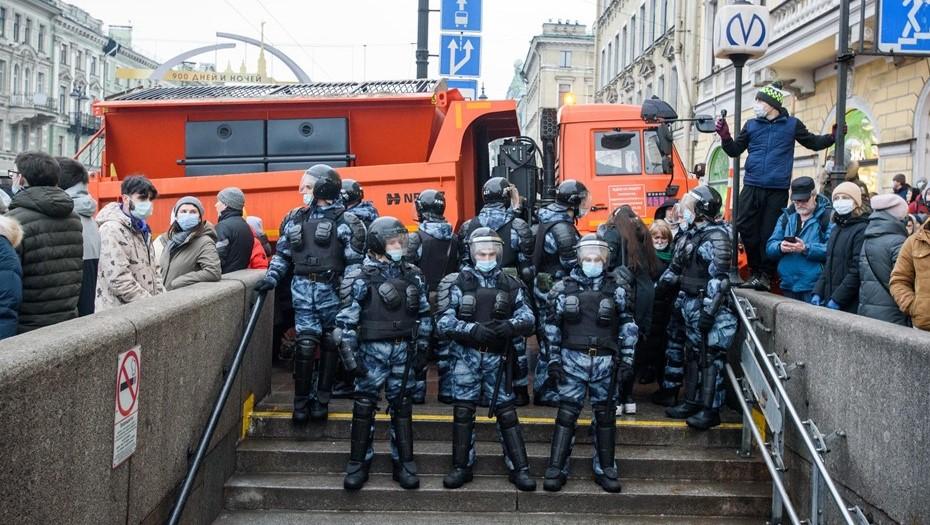 В Петербурге после митинга 23 января возбудили пять уголовных дел