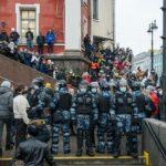 В Петербурге выписали первый штраф из-за субботнего митинга