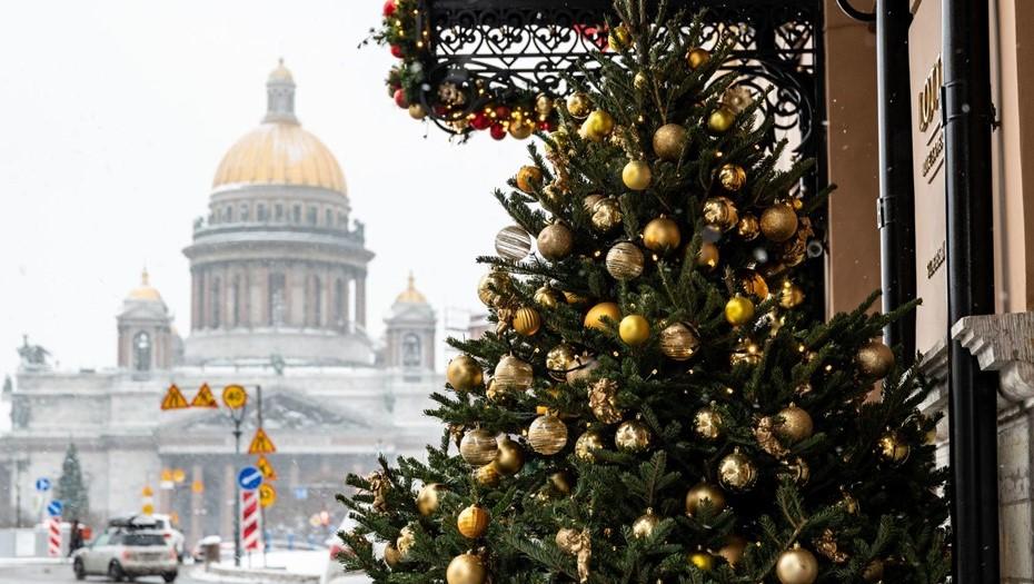 В рождественскую ночь в Петербурге пойдёт снег