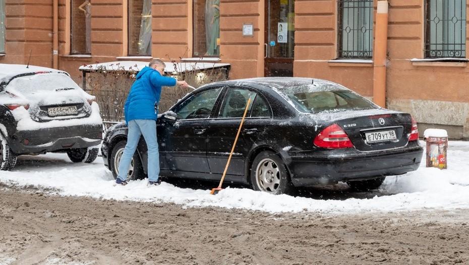 В субботу в Петербурге продолжатся снегопады
