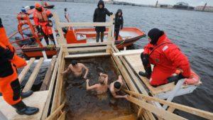 Во всех районах Петербурга на Крещение откроют купели