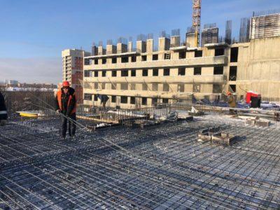 Городской застройщик после праздников наращивает темпы завершения строительства проблемного ЖК «Терлецкий парк»