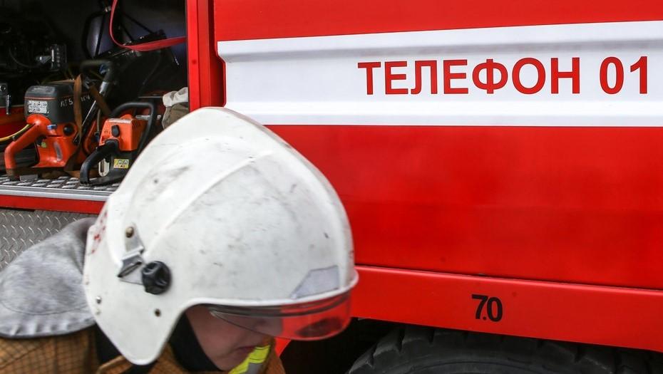 Женщина и двое детей погибли при пожаре на пилораме под Вологдой
