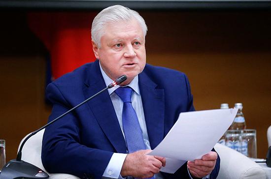 Миронов попросил президента индексировать пенсии военным выше инфляции