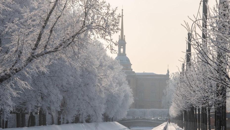 На выходных в Петербурге ожидаются снегопады