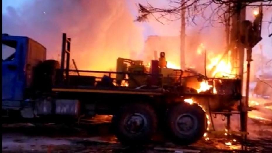 Один человек погиб, квартал отключили из-за ЧП с газопроводом в Колпино