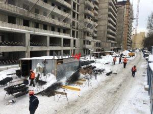 Стройплощадка проблемного ЖК «Терлецкий парк» подключена к временному электроснабжению
