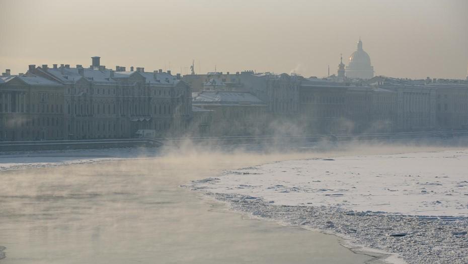 Петербург готовится к самой холодной ночи с начала зимы