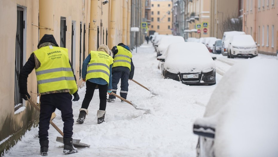 Петербуржцы подали более 250 жалоб на уборку снега