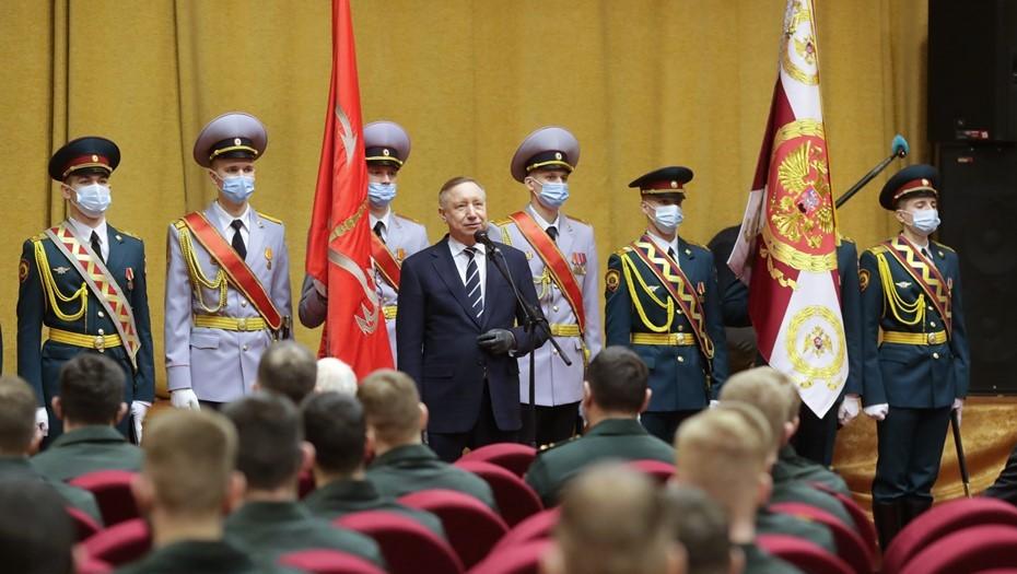 Росгвардия в 2020 году работала на 120 мероприятиях в Петербурге