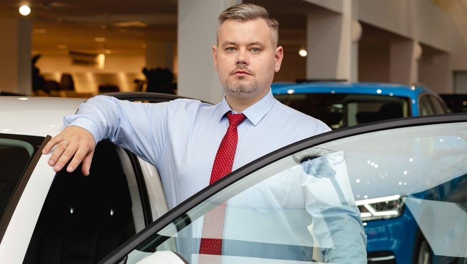 "Директор дилерского центра ""Ауди Центр Лахта"" Андрей Лапко"