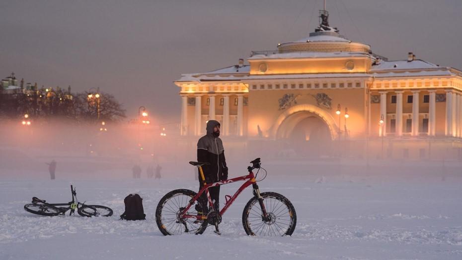 Сильные морозы сохранятся в Петербурге