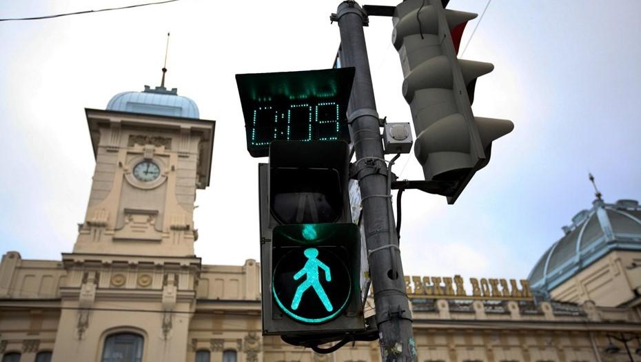 Умные светофоры протестируют на Кубинской улице