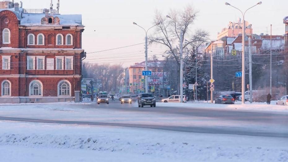 В Архангельске в морозы возникли проблемы с автобусами и мусоровозами