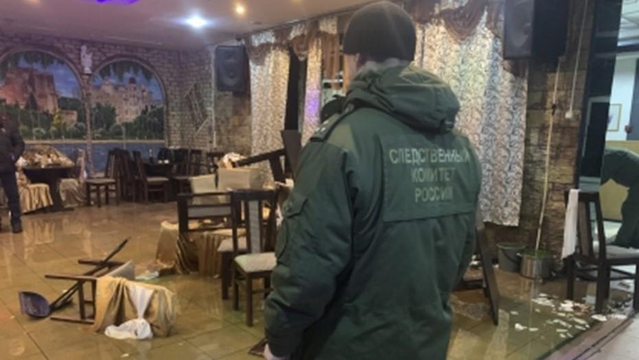 В перестрелке в кафе Шлиссельбурга погиб мужчина