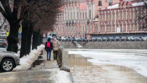 В первый день весны в Петербурге будет ветрено, но без осадков