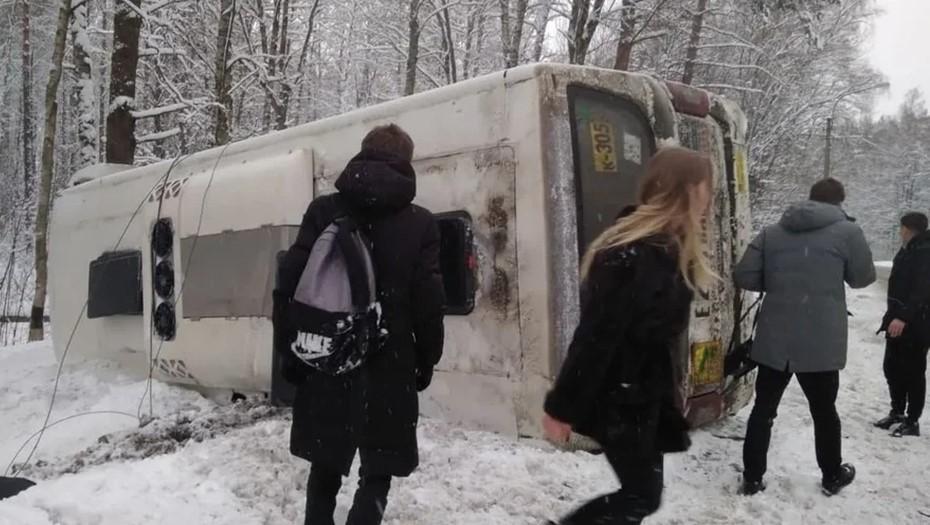 В Петербурге возбудили уголовное дело после смертельного ДТП с маршруткой