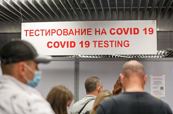 В России впервые с конца октября за сутки выявили менее 17 тысяч случаев COVID-19