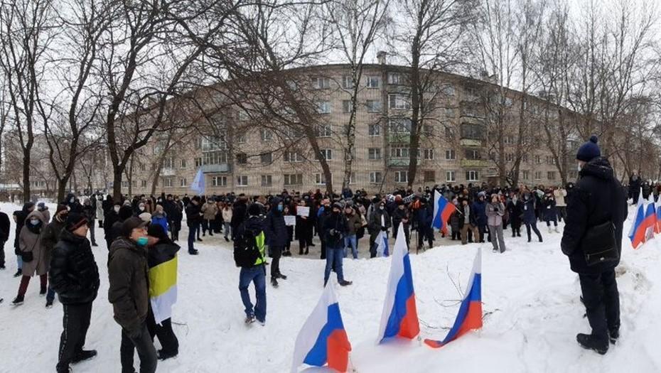 В Вологде после несогласованной акции задержали 35 человек