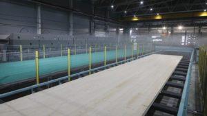 В Вологодской области запущено первое в РФ производство CLT-панелей