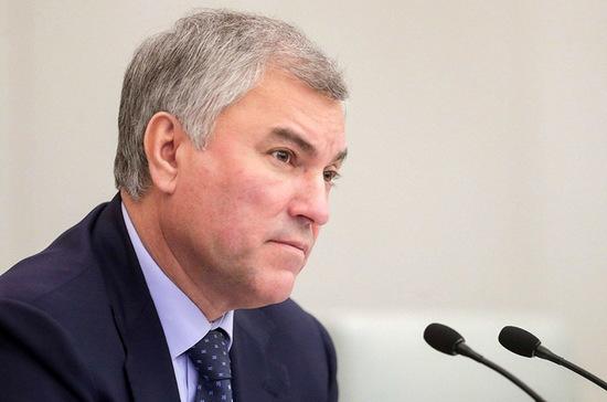 Володин предложил отказать офшорам в господдержке