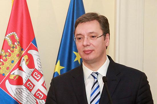 Вучич поздравил нового патриарха Сербского с избранием
