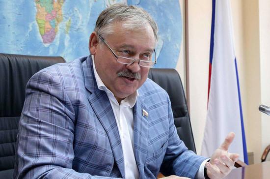 Затулин сравнил заявление Украины о «Спутнике V» с призывами отказаться от газа в пользу соломы