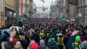 Беглов ответил на просьбу разрешить публичные мероприятия в Петербурге