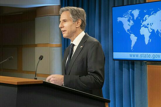 Блинкен: США озвучили свою позицию по «Северному потоку — 2» ФРГ