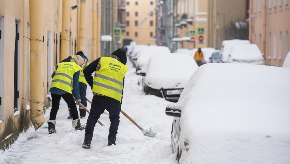 """Циклон """"Отто"""" в воскресенье принесёт в Петербург снег и оттепель"""