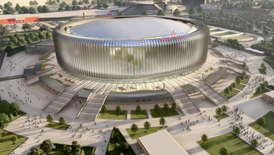 Главгосэкспертиза согласовала проект ледовой арены на месте СКК
